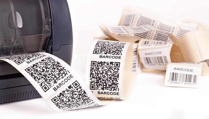 Печать наклеек для этикеток